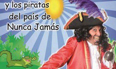 Contratar a Garfio y los Piratas del Pais del Nunca Jamas