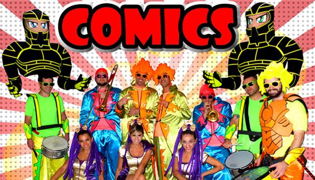 Contratar a The Comics Show
